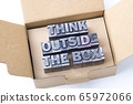 think outside the box 65972066