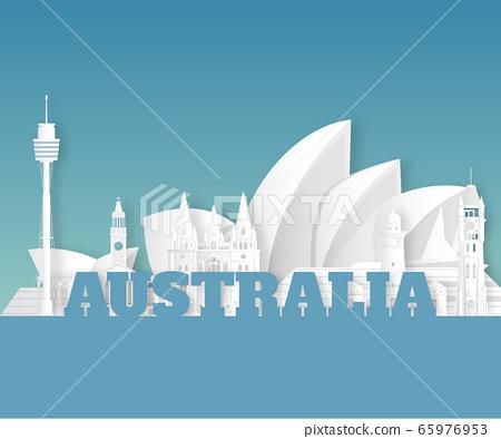 Australia Landmark Global Travel And Journey paper. 65976953