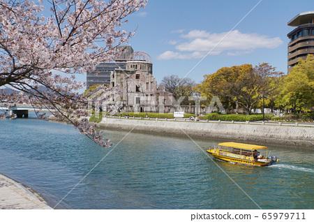 봄의 평화 공원 65979711