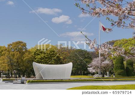 春天的和平公園 65979714