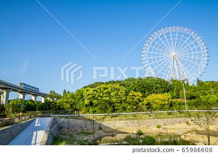 愛知縣長久手市Ai-expo 2005紀念公園的摩天輪 65986608