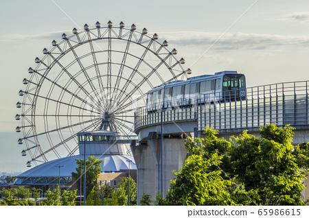 愛知縣長久手市Ai-expo 2005紀念公園的摩天輪 65986615