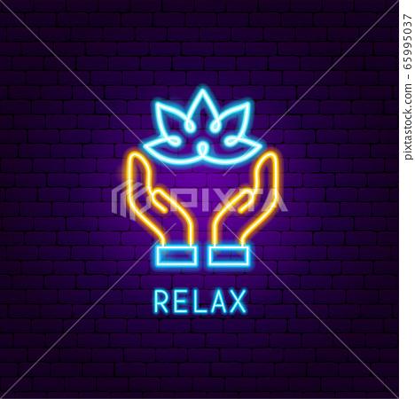 Relax Neon Label 65995037