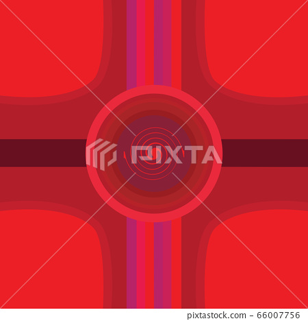 Abstract design background with curves and circles 66007756