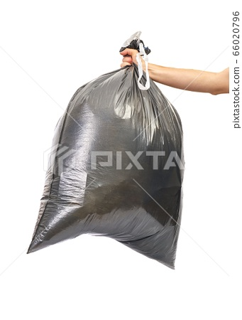 Black trash bag 66020796