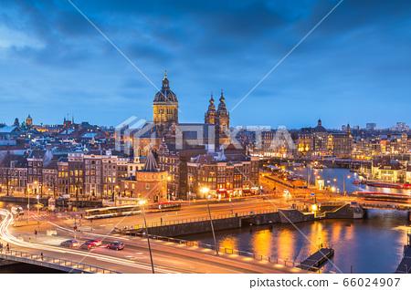Amsterdam, Netherlands Old Centre District 66024907