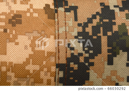Close-up of a piece of camouflage cloth 66030292