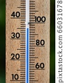 Thermometer in summer 66031678