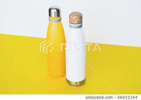 Stylish reusable eco-friendly stainless steel bottles. 66033164