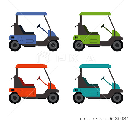 golf car icon 66035844