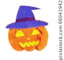 戴著帽子的南瓜燈籠 66041942