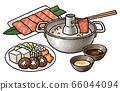 Shabu-shabu set (with sauce and ingredients) 66044094