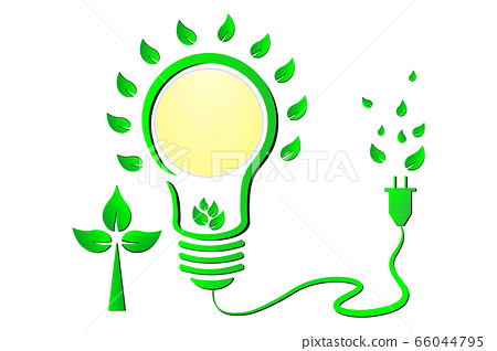 green world and ECO friendly concept 66044795