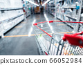 Shopping Cart in Supermarket Cart and shopping 66052984