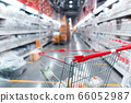 Shopping Cart in Supermarket Cart and shopping 66052987