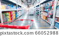 Shopping Cart in Supermarket Cart and shopping 66052988