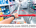 Shopping Cart in Supermarket Cart and shopping 66052989