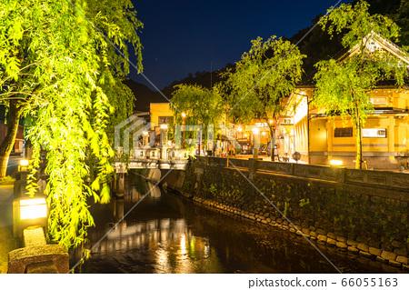 《Hyogo Prefecture》Fresh green Kinosaki hot spring/hot spring town 66055163