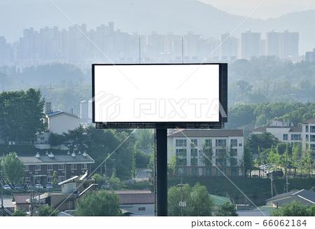 Outdoor billboard around the road mockup wallpapers 66062184