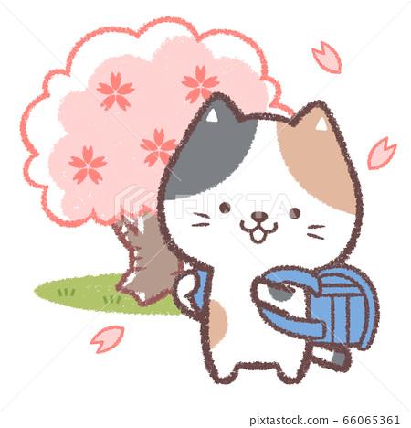 三眼貓入學典禮藍色 66065361
