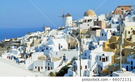 Greece Santorini hill cityscape 66072131