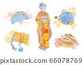 日本傳統女裝,傳統服飾配件,布袋,箱包,鞋子,kisuko,飛機箭 66078769
