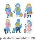 可愛的旅行者,飛機乘客,勇氣 66080194