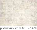 Old vintage grunge newspaper paper texture background. 66092378