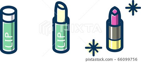 Lip balm & lipstick line blue 66099756