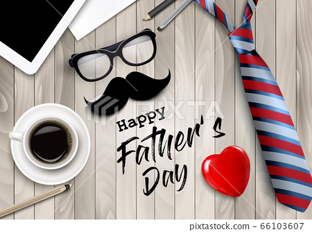 Happy Holiday Fathers Day Background. Colorful 66103607