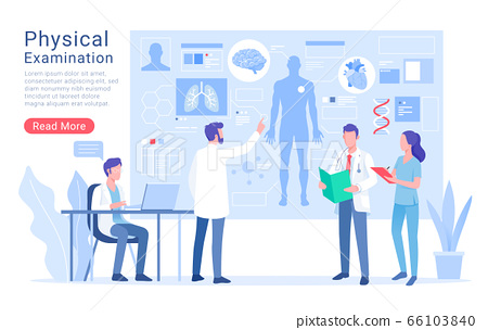 Physical system examination and treatment vector 66103840