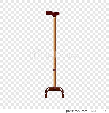 Support walk stick icon, realistic style 66108063