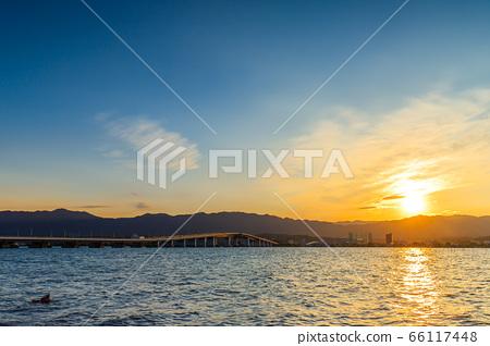 琵琶湖大橋夜景 66117448