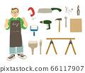 手工 工具 男人 66117907