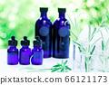 用绿色精油和载体油包裹的香薰疗法 66121173