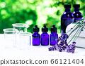 用绿色精油和载体油包裹的香薰疗法 66121404