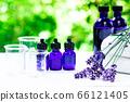 用绿色精油和载体油包裹的香薰疗法 66121405