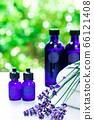 用绿色精油和载体油包裹的香薰疗法 66121408