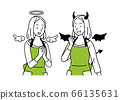 천사와 악마 세트 66135631