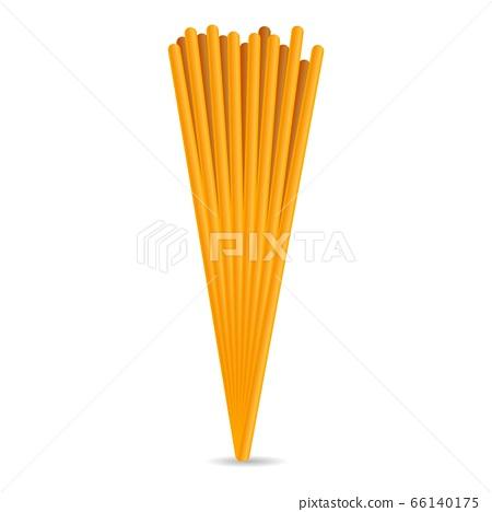 Spagetti icon, cartoon style 66140175