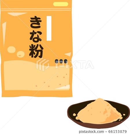 Kinako in a bag 66153879