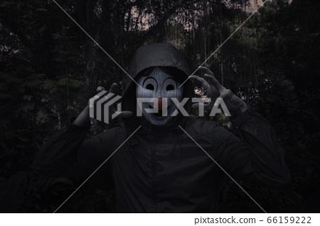 Halloween mystery concept 66159222
