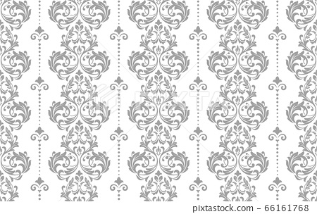 Wallpaper in the style of Baroque. Seamless vector 66161768