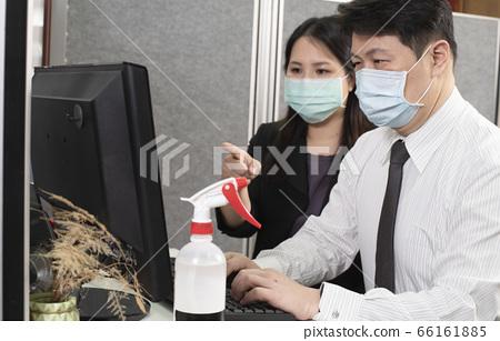 辦公室防疫打電腦 66161885