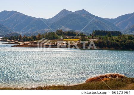 忠州湖的秋天 66172964