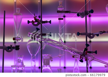 Glass instruments in the laboratory of chemical 66179979