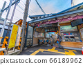 Tokyo cityscape of Japan Togoshi Ginza station and other views 66189962