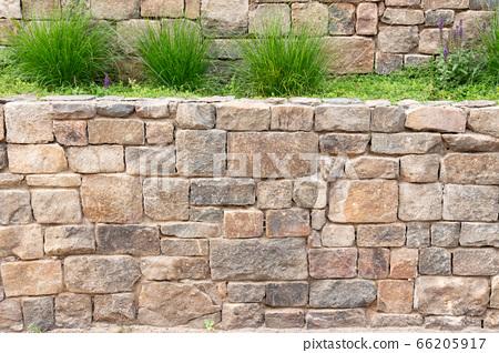 카피스페이스가 있는 벽돌로 된 벽 사진 66205917