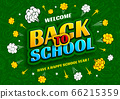 Back To School Background Design In Comic Book Pop Art Style 66215359