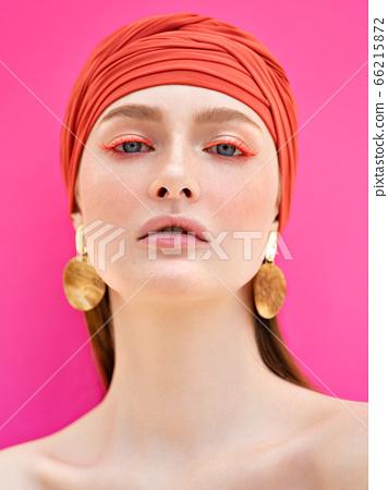 Summer beauty portrait. 66215872